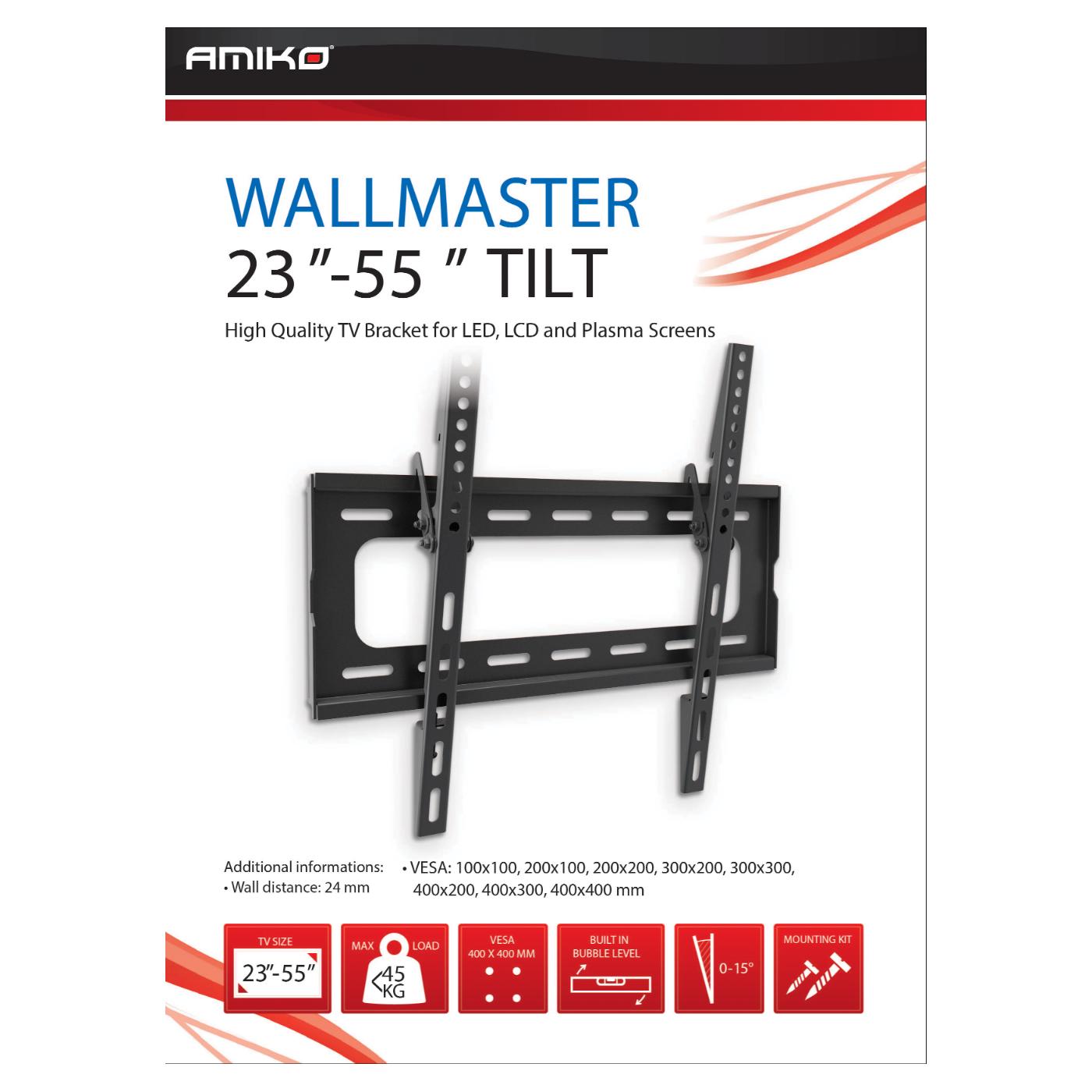Wallmaster 23-55 Tilt