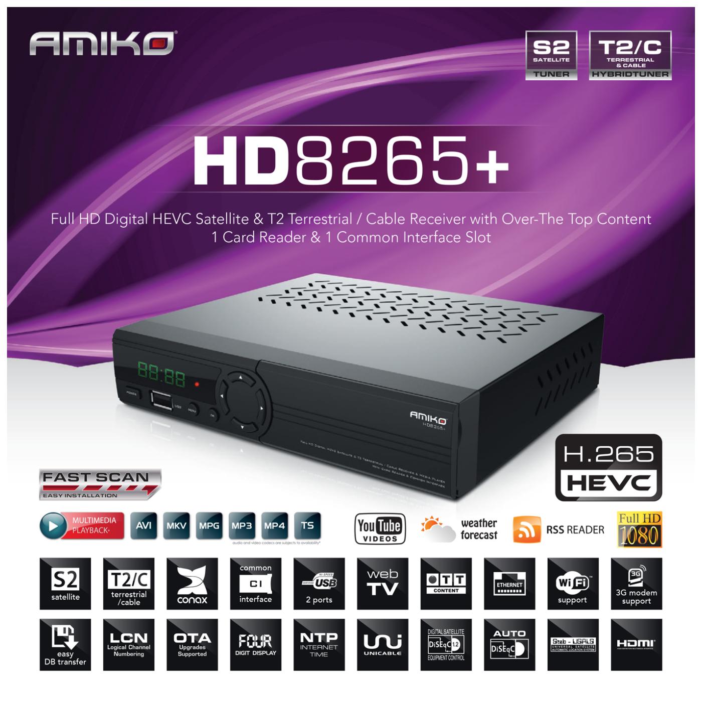 HD-8265+