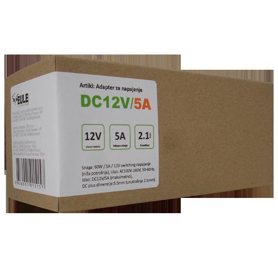 Adapter 12V/5A