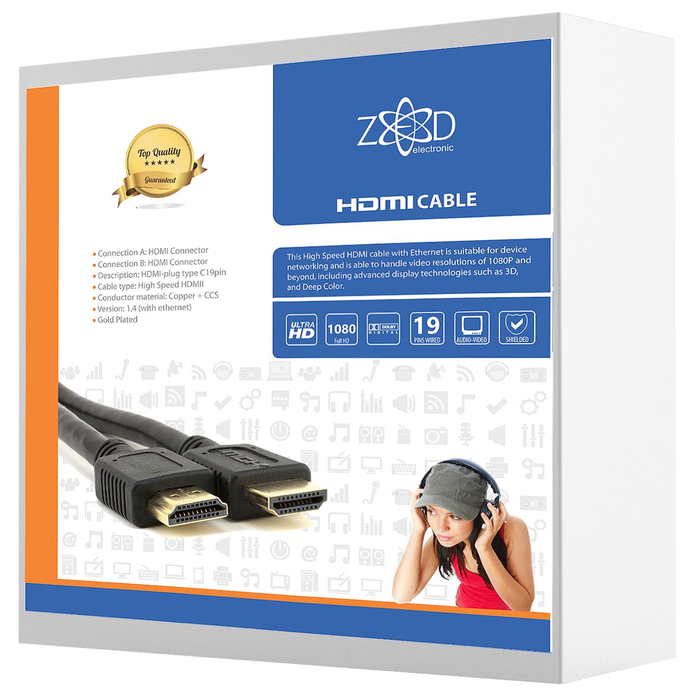 ZED electronic - HDMI/7,5