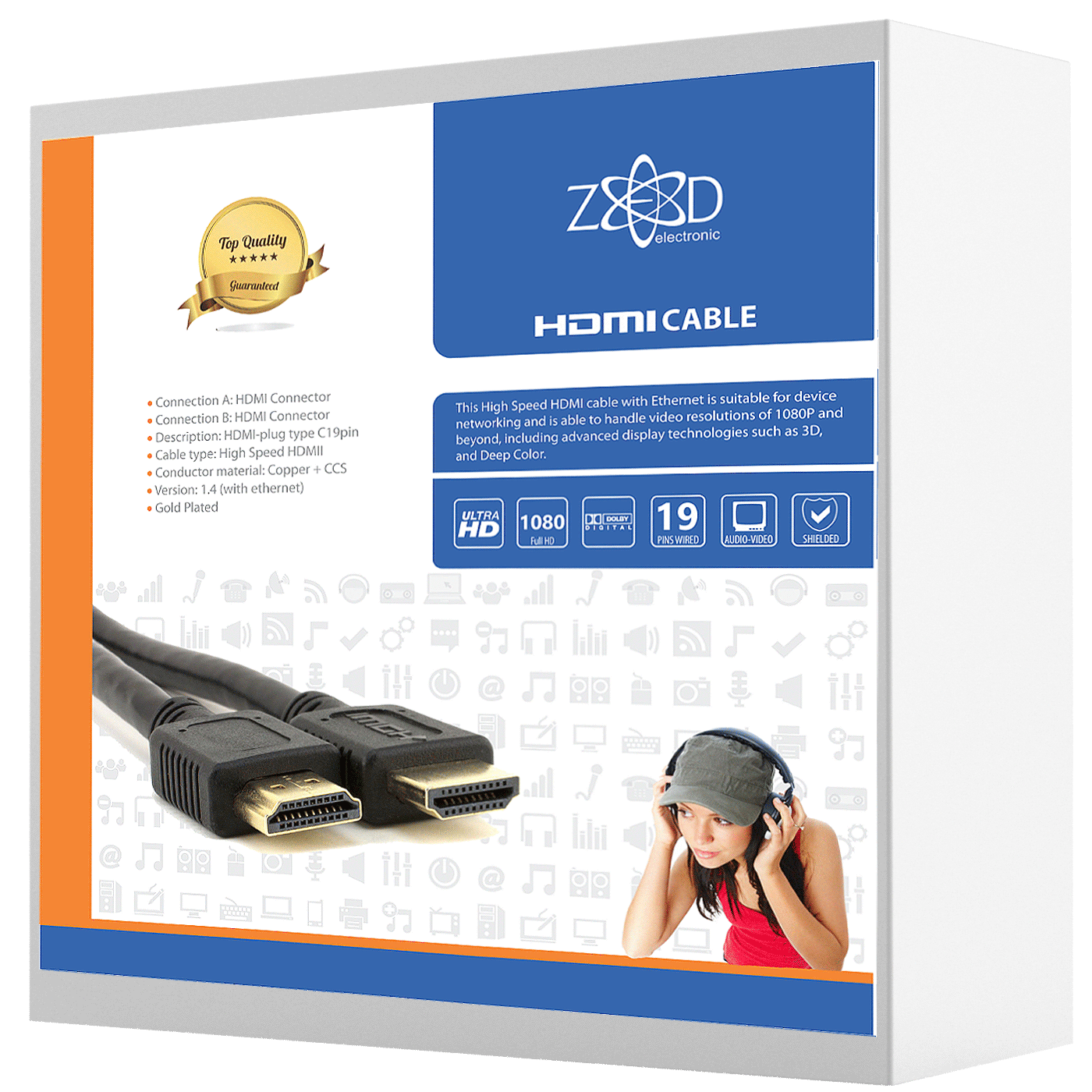 ZED electronic - HDMI/25