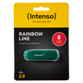 (Intenso) - USB2.0-8GB/Rainbow