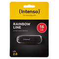 (Intenso) - USB2.0-16GB/Rainbow