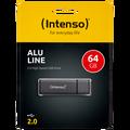 (Intenso) - USB2.0-64GB/Alu-a