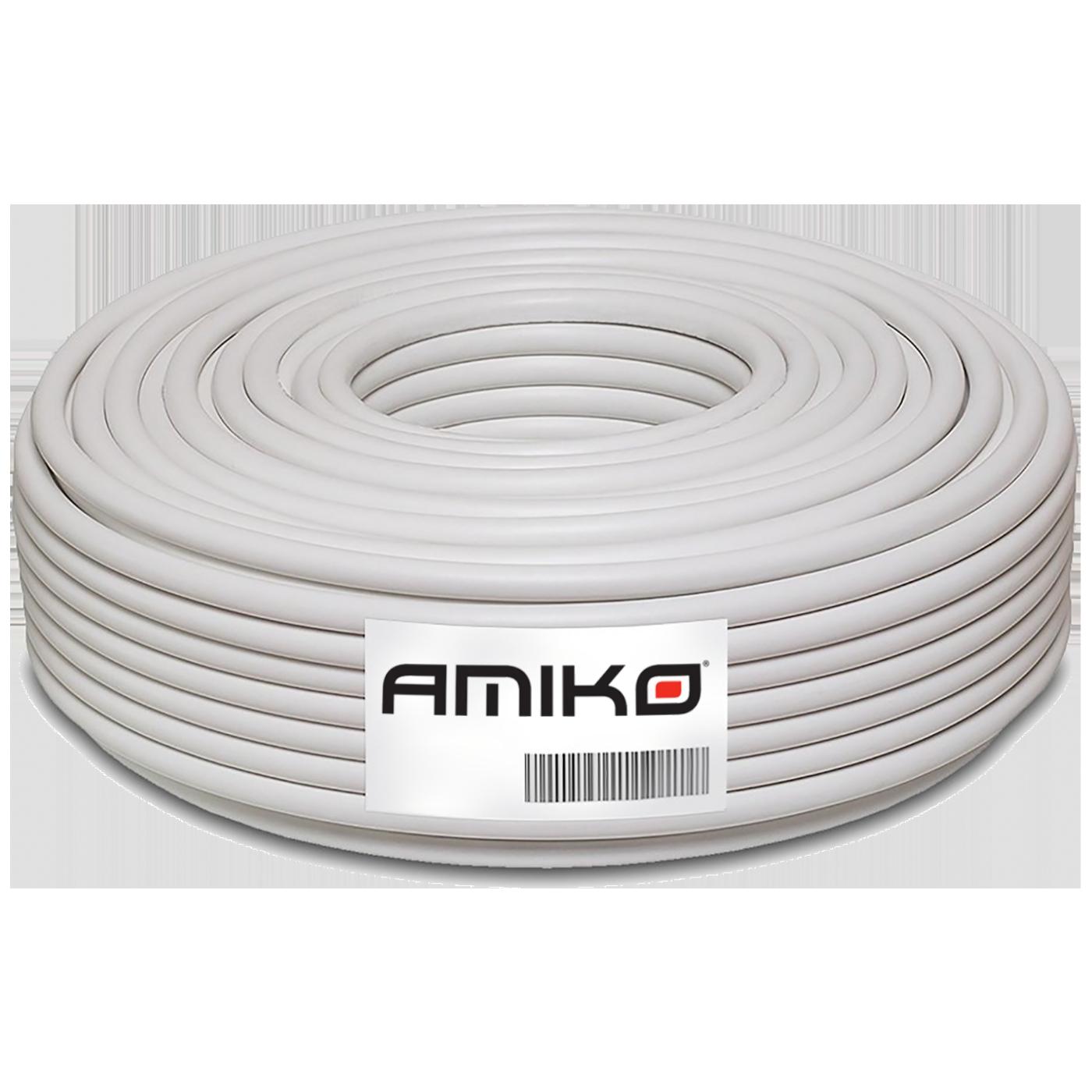 Amiko - RG6-BC/100db - 100m