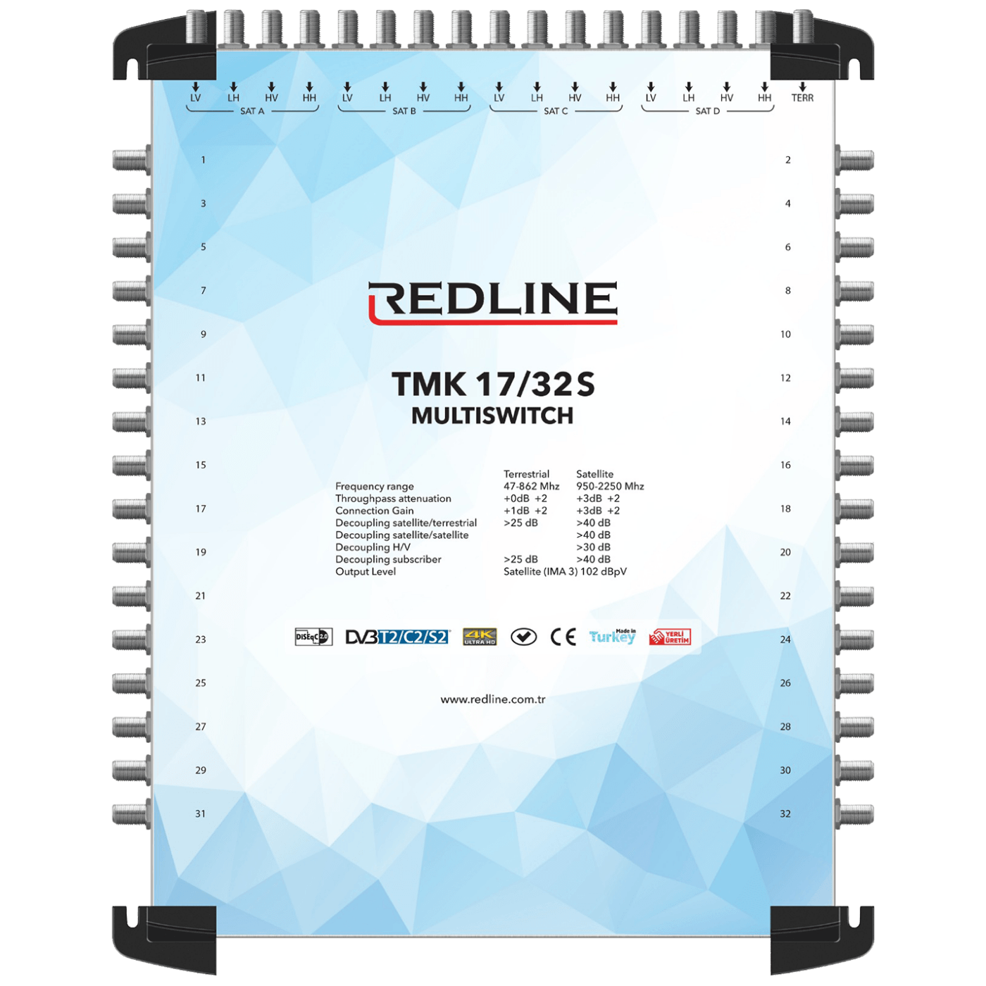 REDLINE - TMK 17/32S